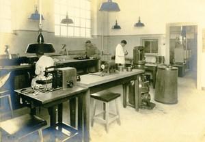 Germany Essen Krupp Dental Steel Factory Workshop Workers Old Photo 1930