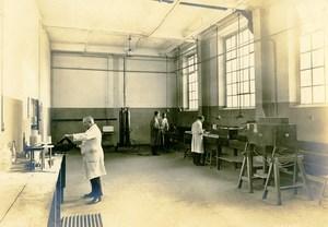 Germany Essen Krupp Dental Steel Factory Workshop Casting Old Photo 1930