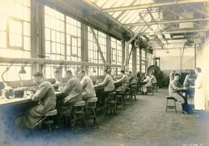 Germany Essen Krupp Dental Steel Processing Factory Workshop Old Photo 1930