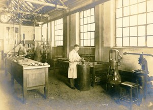 Germany Essen Krupp Dental Steel Factory Workshop Press Old Photo 1930