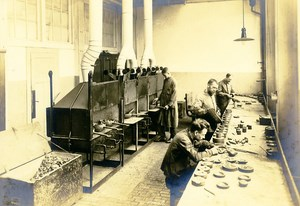 Germany Essen Krupp Dental Steel Factory Foundry Workshop Old Photo 1930