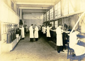 Germany Essen Krupp Dental Steel Factory Polishing Workshop Old Photo 1930