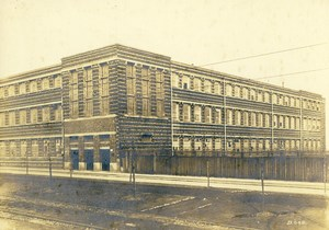 Germany Essen Krupp Dental Steel Factory Workshop Building Old Photo 1930