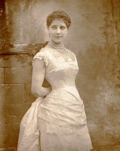British Theatre Actress Maude Millett Old Woodburytype Photo Barraud 1885