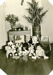 USA Hawaii Honolulu Japanese Baby Traditional Fashion Toys Bugs Bunny Photo 1948