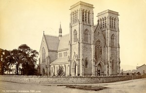 Scotland Inverness Cathedral Old Albumen Photo Wilson GWW 1875