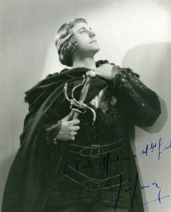 Belgium Opera Lyric Tenor Jose Janson Old Photo Max Autograph 1935