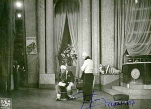 France Opera Lyric Tenor Jose Janson Old Photo Star Autograph 1935