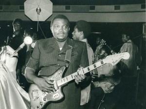 Belgium Brussels OK Jazz Franco Concert Fender Guitar Old Photo Guyaux 1978