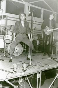 Belgium Brussels Belgian Punk Band De Kommeniste Music Old Photo 1979