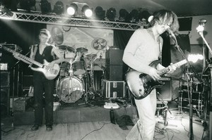 Belgium Brussels Unnamed Band on stage Punk Rock Music Old Photo 1978