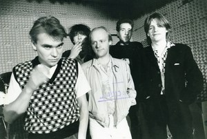 Belgium Brussels Belgian Punk Band De Kommeniste Music Paul Versele Photo 1979