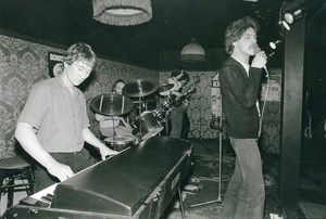 Belgium Brussels Belgian Music Band Scooter Old Photo 1978