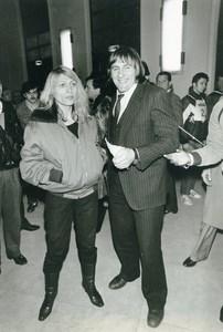 Cinema Portrait of Actor Gerard Depardieu Elisabeth Guignot Old Photo 1980