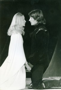 France Paris TNP Anne Marie Philipe Theatre Debut Old Photo 1976