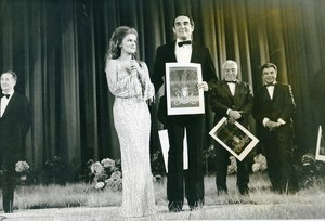 France Cannes Festival Closing Vittorio Gassman Ann Margret Old Photo 1975