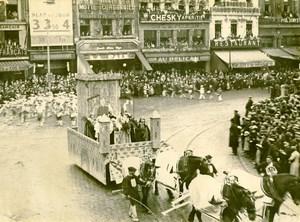 France Lille Great Historical Parade Seigneurs d'Halluin Photo Echo du Nord 1932