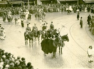 France Lille Great Historical Parade Roubaix Ghistelles Photo Echo du Nord 1932