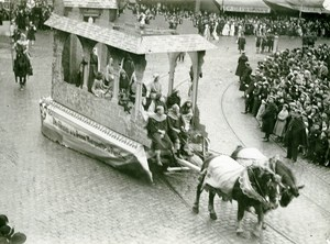 France Lille Great Historical Parade Béguines Old Photo Echo du Nord 1932