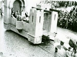 France Lille Great Historical Parade Adele de France Old Photo Echo du Nord 1932