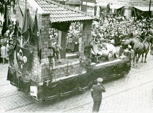 France Lille Great Historical Parade Ferronniers Old Photo Echo du Nord 1932