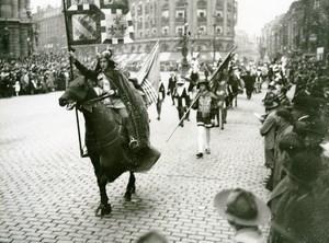 France Lille Great Historical Parade Philippe le Hardi Photo Echo du Nord 1932