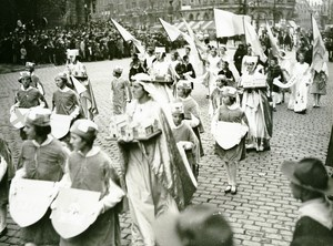 France Lille Great Historical Parade Saint Bernard Abbey Photo Echo du Nord 1932