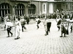 France Lille Historical Parade Baudouin IX Marie de Champagne old Photo 1932