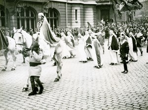 France Lille Great Historical Parade Gertrude of Saxony Photo Echo du Nord 1932