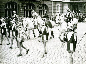 France Lille Great Historical Parade Charles le Bon Old Photo Echo du Nord 1932