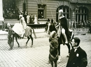 France Lille Great Historical Parade Thierry d'Alsace Photo Echo du Nord 1932