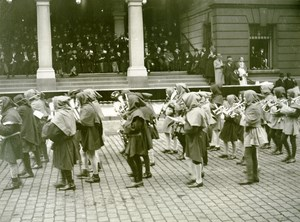 France Lille Great Historical Parade Musicians Old Photo Echo du Nord 1932