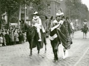 France Lille Historical Parade Archiducs Albert Isabelle Photo Echo du Nord 1932