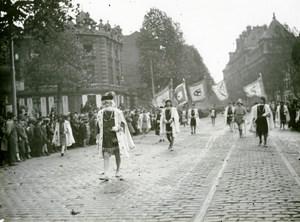 France Lille Historical Parade Magistrat de Tournai Old Photo Echo du Nord 1932