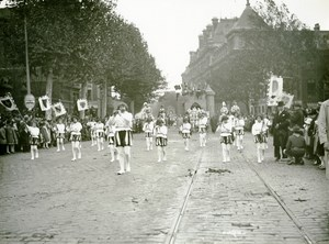 France Lille Great Historical Parade Fife Players Old Photo Echo du Nord 1932