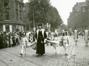 France Lille Historical Parade Mayeur Jean Levasseur Old Photo Echo du Nord 1932