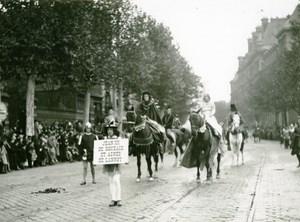 France Lille Great Historical Parade Jean III de Roubaix Photo Echo du Nord 1932