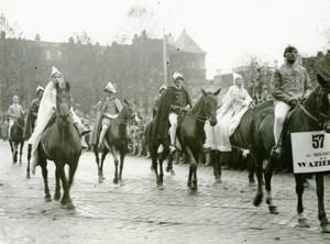 France Lille Historical Parade Seigneur de Wazières Old Photo Echo du Nord 1932