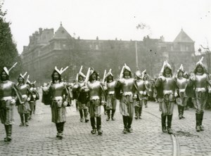 France Lille Great Historical Parade Mousquetaires Old Photo Echo du Nord 1932