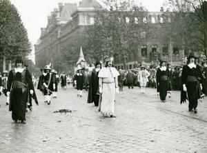 France Lille Historical Parade Maitres Drapiers de Roubaix Old Photo 1932