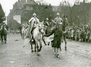 France Lille Historical Parade Ogier Ghiselin de Busbecq Photo Echo du Nord 1932