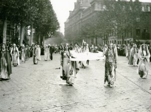 France Lille Great Historical Parade Thecle Roubaix Old Photo Echo du Nord 1932