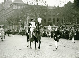 France Lille Great Historical Parade Charles V Quint Old Photo Echo du Nord 1932
