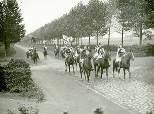 France Lille Great Historical Parade Horse Riders Old Photo Echo du Nord 1932