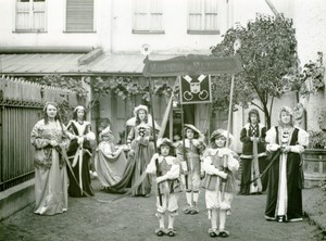 France Lille Historical Parade Marguerite de Meteren Old Photo Echo du Nord 1932