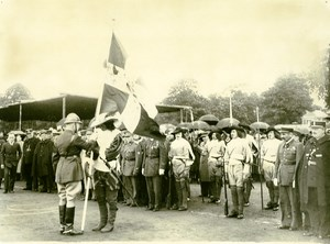 France Lille Great Historical Parade Flag Old Photo Echo du Nord 1932