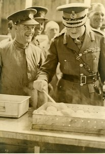 United Kingdom Crookham Barracks General John Dill Mess Hall Press Photo 1939
