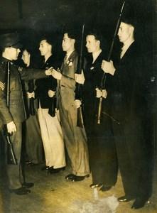 United Kingdom Arsenal Football Stars Royal Fusiliers Old Press Photo 1939
