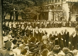 United Kingdom London Westminster Judge Procession Old Press Photo 1946