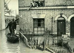 United Kingdom London Suburb Floods Milk Supply Old Press Photo 1947